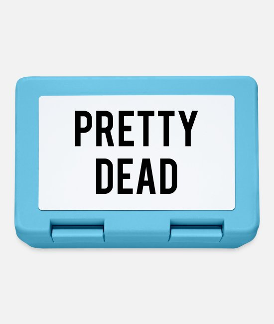 Pretty Pretty Lunchboxes - Pretty Dead - Lunchbox sapphire blue