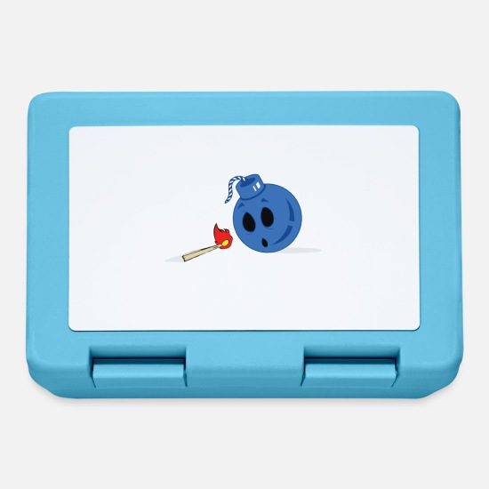 Match Lunchboxes - Fatal Attraction - Lunchbox sapphire blue