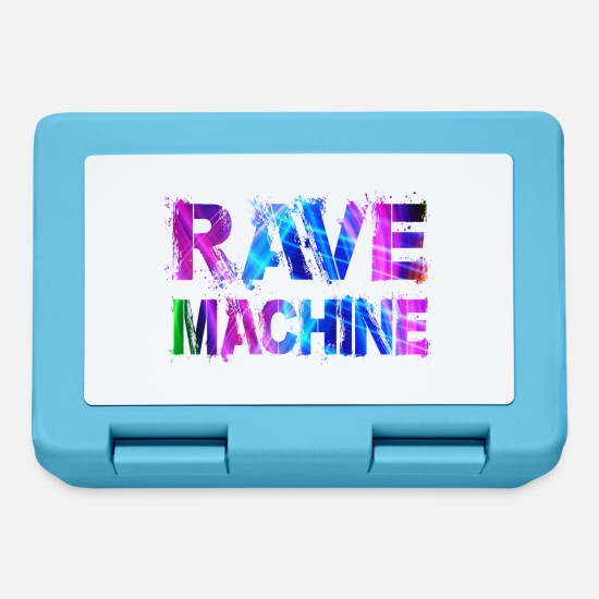 Hardstyle Lunchboxes - Rave Machine - Lunchbox sapphire blue