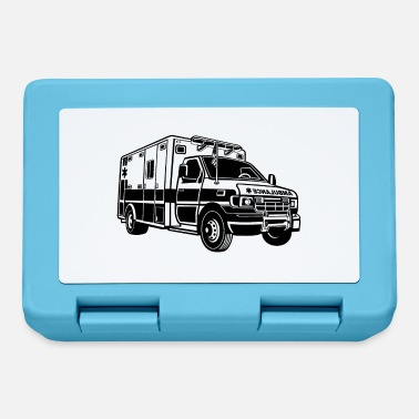 Ambulance Ambulance / ambulance 01_black - Lunchbox