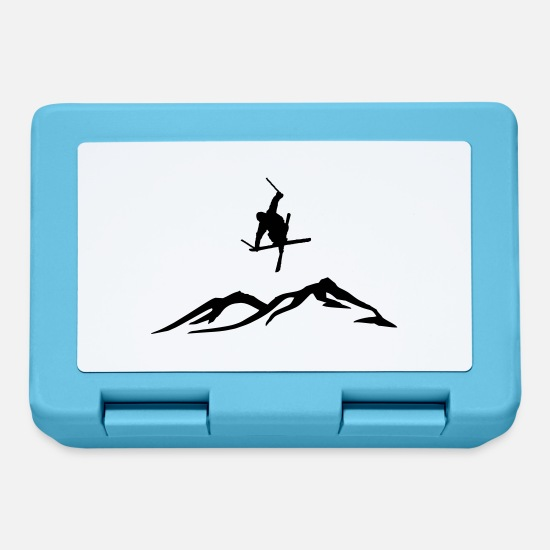 Freestyle Lunchboxes - Ski freestyle - Lunchbox sapphire blue