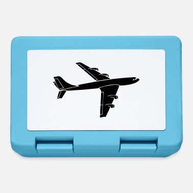 Airplane Silhouette airplane - Lunchbox
