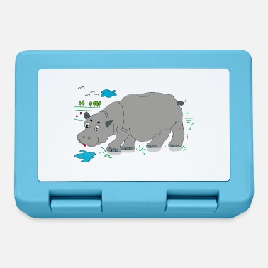 Meadow Hippo meadow - Lunchbox