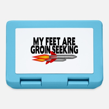 Ladies Casual Groin Seeking Missile Tshirt - Lunchbox
