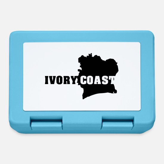Coast Lunchboxes - Ivory Coast (ID: 002004) - Lunchbox sapphire blue