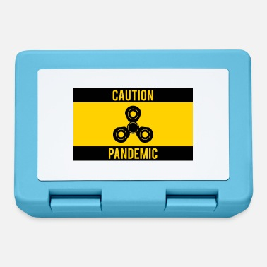 Pandemic Fidget Spinner: Caution Pandemic - Lunchbox