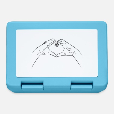 Gesture Hands shape heart gesture - Lunchbox