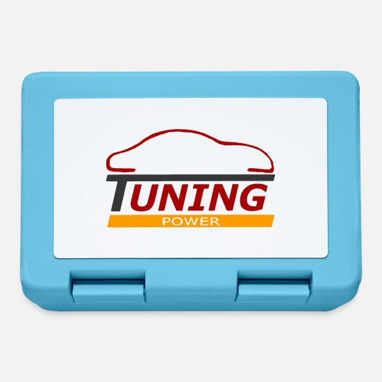 Cars Lunchboxes - tuning power - Lunchbox sapphire blue