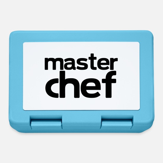 Cook Lunchboxes - master chef - Lunchbox sapphire blue