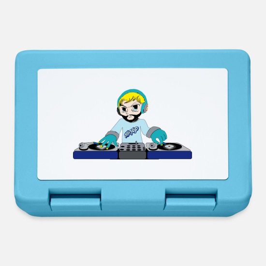 Music Lunchboxes - DJ console - Lunchbox sapphire blue