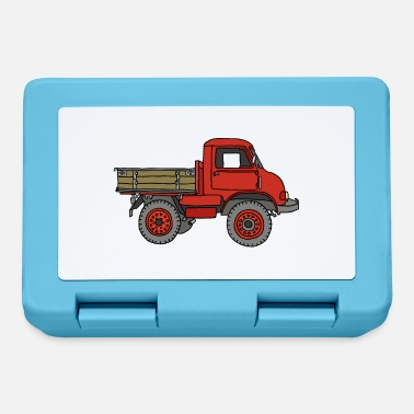 Pickup Line Red pickup truck - Lunchbox