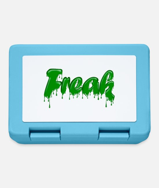 Game Lunchboxes - Green Gloop Freak - Lunchbox sapphire blue