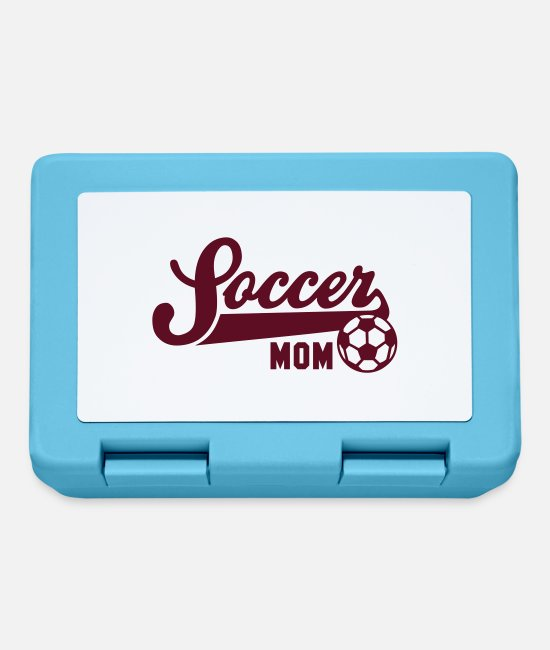Mummy Lunchboxes - Soccer MOM - Lunchbox sapphire blue