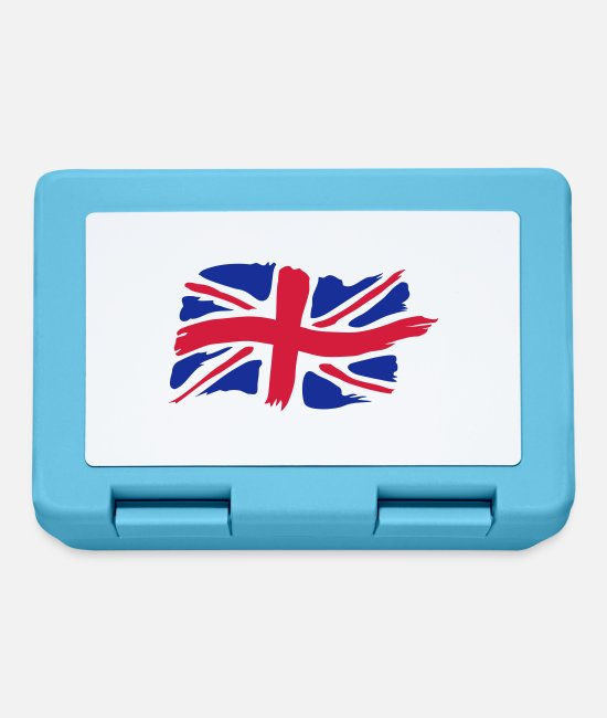 Great Britain Lunchboxes - unionjackbrush - Lunchbox sapphire blue