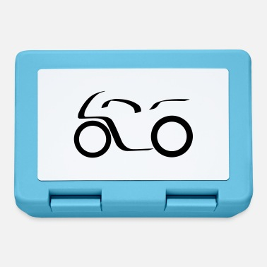 996 Motorcycle Logo - Lunchbox