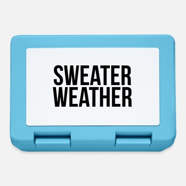 Weather Sweater weather - Lunchbox