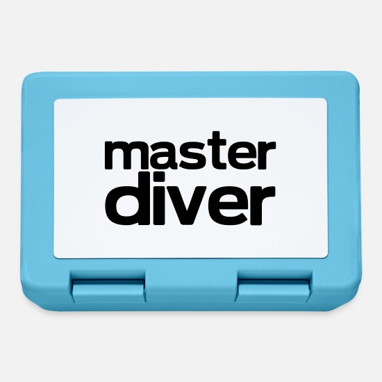 Diving Lunchboxes - master diver - Lunchbox sapphire blue