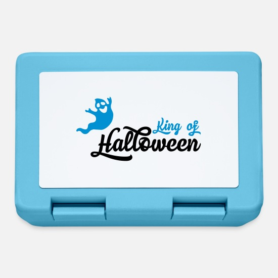 Halloween Lunchboxes - ghost - Lunchbox sapphire blue