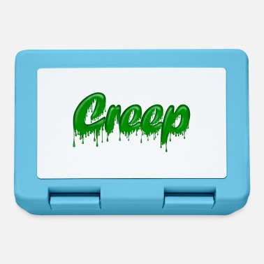 Gloopy Writing Green Gloop Creep - Lunchbox