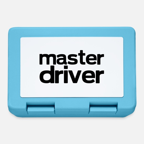 Golf Lunchboxes - master driver - Lunchbox sapphire blue