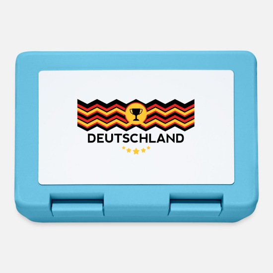 Germania Lunch boxes - Germania campione del mondo - Lunch box blu zaffiro