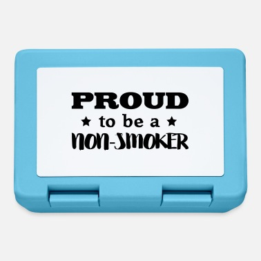 Nonsmoking nonsmoker proud to be - Lunchbox