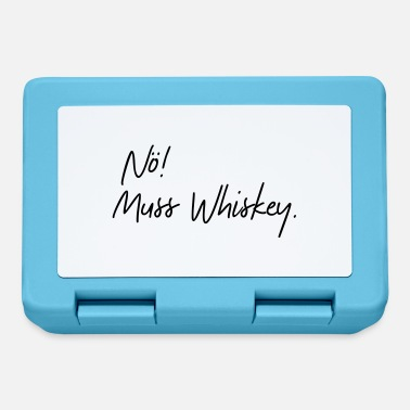 Whiskey nö muss whiskey - Brotdose