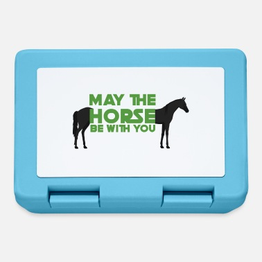 May The Horse Pferd / Bauernhof: May The Horse Be With You - Brotdose