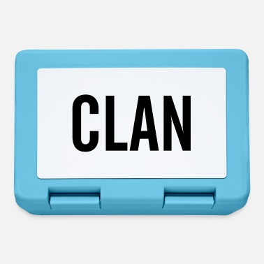 Clan clan - Lunch box