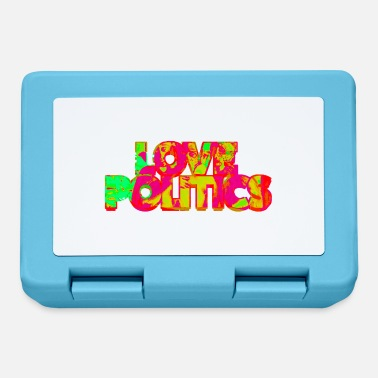Politics Love Politics - Lunchbox