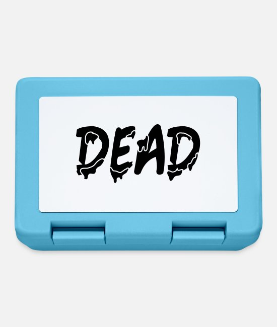 Halloween Lunchboxes - Dead - Lunchbox sapphire blue