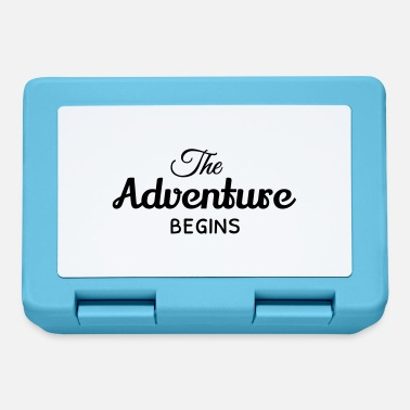 the adventure begins - Lunchbox