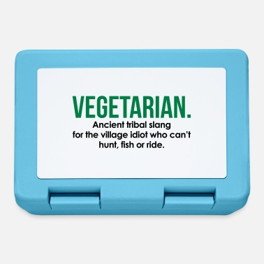 Slang Vegetarian Tribal Slang - Lunch box