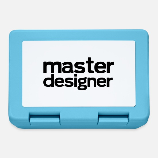 Art Lunchboxes - master designer - Lunchbox sapphire blue