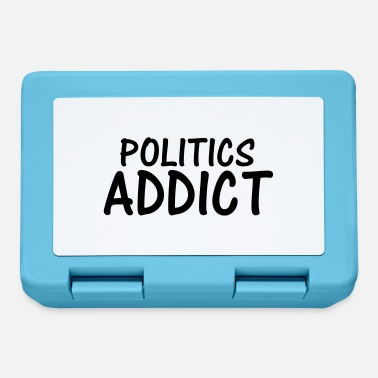 Politics politics addict - Lunchbox