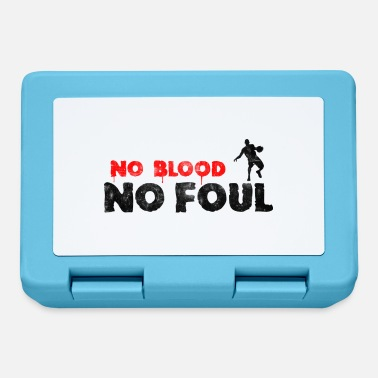 Foul Basketball Slogan No Blood No Foul, vintage look - Lunchbox