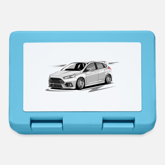 Focus Lunchboxes - Focus MK3 RS without driver - Lunchbox sapphire blue
