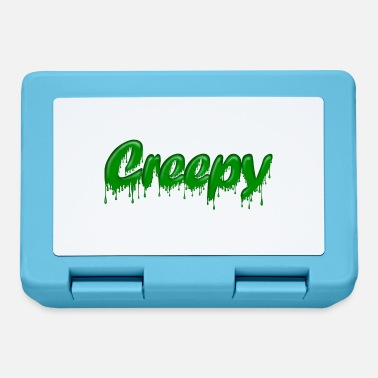 Gloopy Writing Green Gloop Creepy - Lunchbox