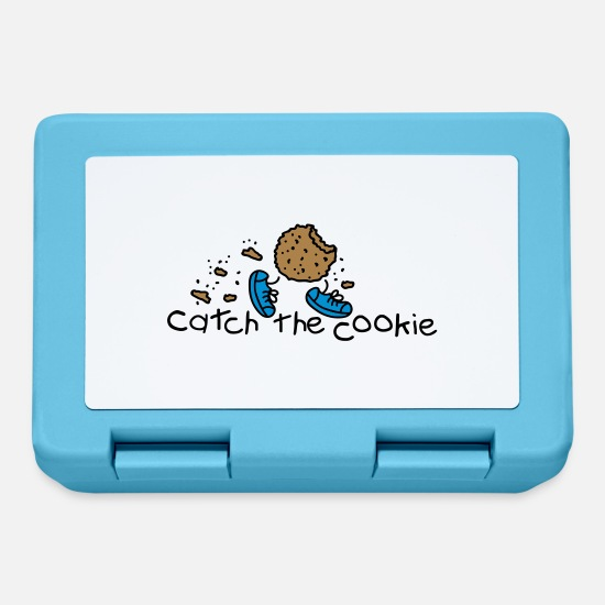 Avvento Lunch boxes - catch the cookie - Lunch box blu zaffiro