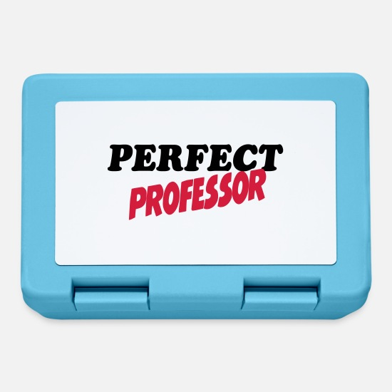 Professor Lunchboxes - Perfect professor - Lunchbox sapphire blue