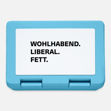 Wealthy wealthy liberal fat - Lunchbox
