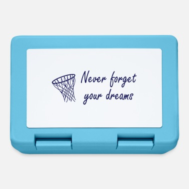 Never Forget Never forget your dreams - Matlåda