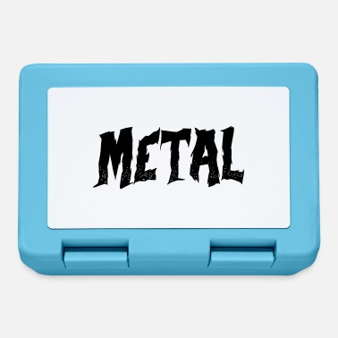 Metal metal - Brotdose