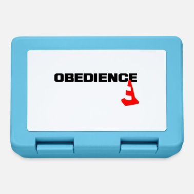 Obedience Obedience with pylons - Lunchbox