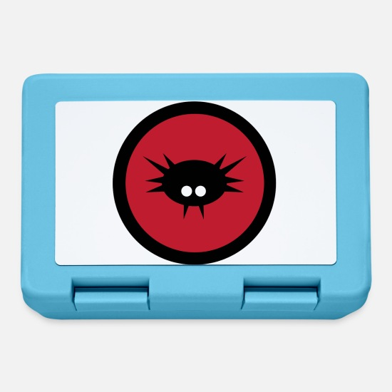 Bug Lunchboxes - Virus Alert - Lunchbox sapphire blue