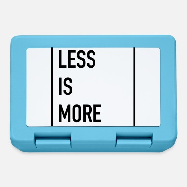 Less Less Is More - Brotdose