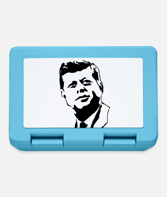 Kennedy Lunchboxes - kennedy stencil - Lunchbox sapphire blue