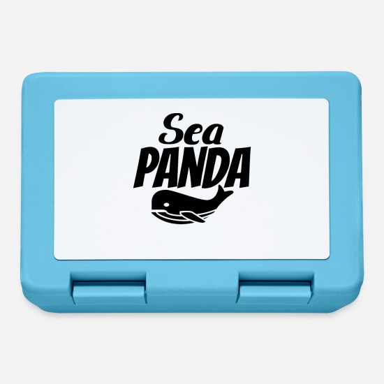 Wale Lunchboxes - Sea Panda - Lunchbox sapphire blue