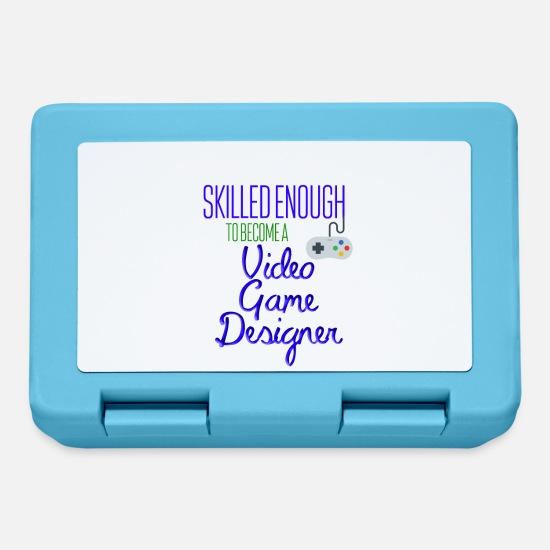 Game Lunchboxes - Video game designer - Lunchbox sapphire blue