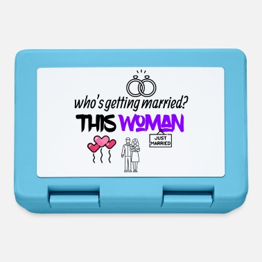 Married Woman This woman is getting married - Lunchbox